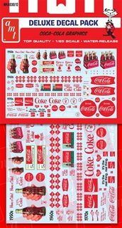 1:25 Coca-Cola Decal Pack