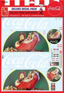 MKA 1:25 Vintage Coca-Cola Santa Decals