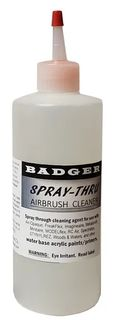 SPRAY THRU AIRBRUSH CLEANER 2OZ/60ML *