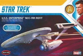 Polar Lights 1:1000 Star Trek U.S.S Enterprise Wrath