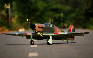 VQ Models Hawker Hurricane 60Size Ep Gp