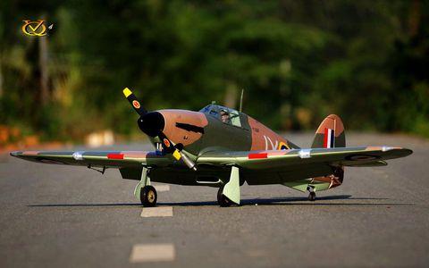 VQ Models Hawker Hurricane 60Size Ep Gp