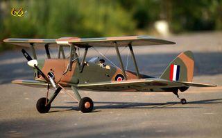 VQ Models Tiger Moth 46 Size EP GP Red