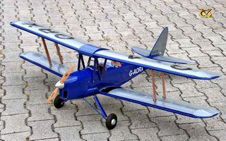 VQ Models Tiger Moth 46 Size Ep Gp Dark