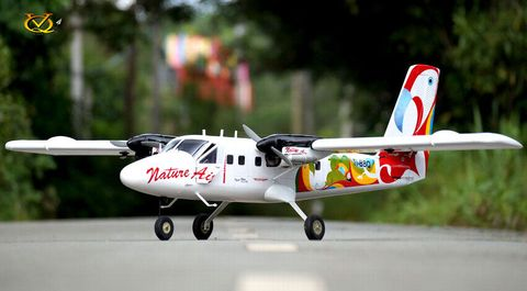 VQ Models DHC6 Twin Otter 25 Size EP GP