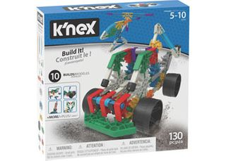 K'Nex Build It Set 10N 130 Pieces