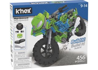K'Nex Mega Motorcycle Build Set 456 Pce