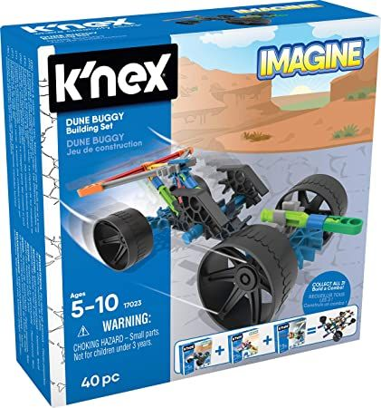 K'Nex Imagine Dune Buggy Set 40Pc