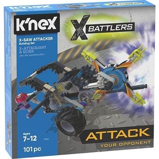K'Nex X-Saw Attacker Build Set 101Pce