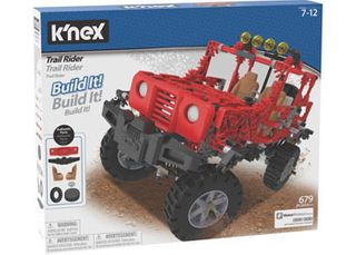 K'Nex Trail Rider Building Set 682Pce
