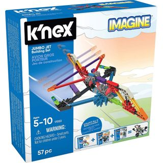 K'Nex Imagine Jumbo Jet Set 57 Pc