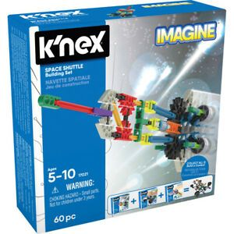 K'NEX IMAGINE SPACE SHUTTLE 60PC