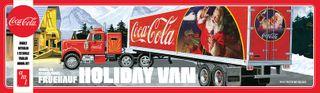 AMT 1:25 Fruehauf Holiday Hauler Semi (Coca)