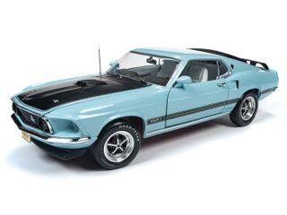 Autoworld 1:18 1969 Mustang Mach 1 (Class Of 69)