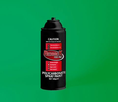 Redback Paint P.Carb Trans. Green 180Ml Spry