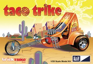 MPC 1:25 Taco Trike (Trick Trikes Series)
