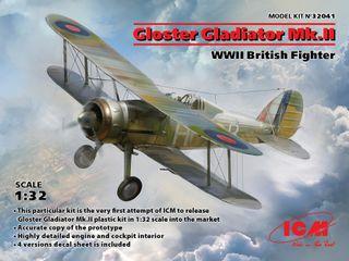 ICM 1:32 Gloster Gladiator Mk.Ii