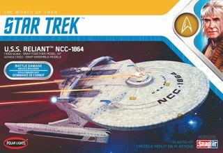 Polar Lights 1:1000 Star Trek Uss Enterprise Reliant