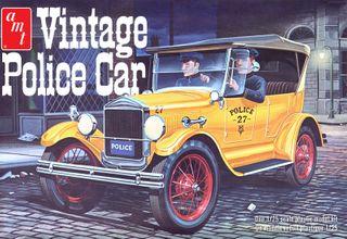 AMT 1:25 1927 Ford T Vintage Police Car