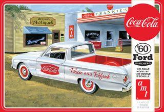 AMT 1:25 1960 Ford Ranchero W/Coke Chest