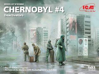 1:35 Chernobyl#4. Deactivators (4)