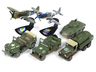 Johnny Lightning 1:64 Greatest Generation Rel.3B(6Pc Set)
