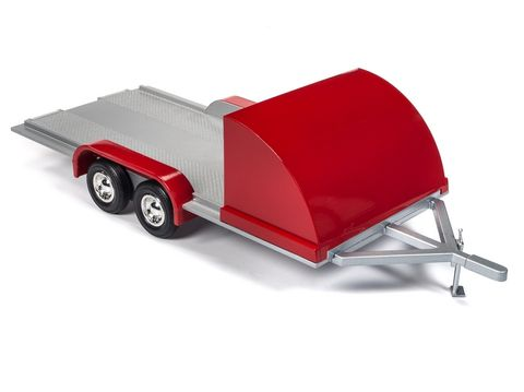 Autoworld 1:18 Trailer Red