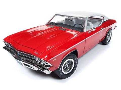 Autoworld 1:18 1969 Chevy Chevelle ClassOf 69