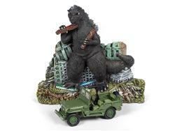 Autoworld 1:64 Jl Ss Diorama Ass'T - Godzilla And