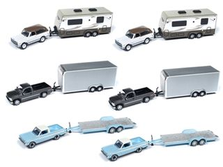 Johnny Lightning 1:64 Jl Truck And Trailer Rel.8B