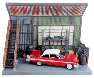 Johnny Lightning 1:64 Christine Scenic Display
