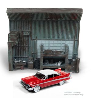 Johnny Lightning 1:64 Darrel'S Garage W/1958 Christine