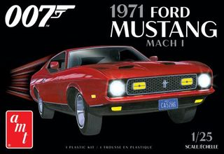 AMT 1:25 James Bond 1971 Ford Mustang Mach I