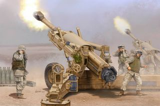 1:16 M198 155mm Towed Howitzer
