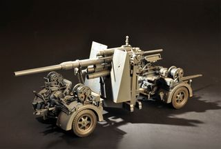 1:18 German Flak 36 88MM Anti-Aircraft G