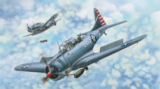 I Love Kit 1:18 Sbd-3/4 Dauntless