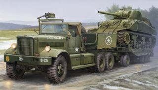 I Love Kit 1:35 M19 Tank Transporter With Soft Top