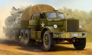 1:35 M19 Tank Transporter with Hard Top