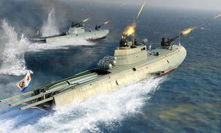 I Love Kit 1:35 Soviet G-5 Class Motor Torpedo Boat