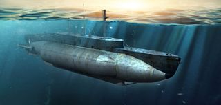 I Love Kit 1:35 British Hms X-Craft Submarine