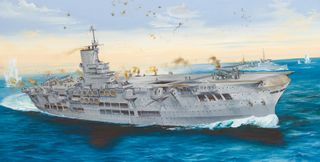 1:350 HMS Ark Royal 1939