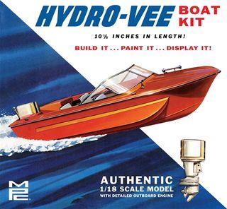 MPC 1:18 Hydro-Vee Boat