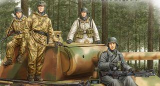 Hobbyboss 1:35 German Panzer GrenadiersVol.2