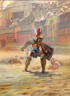 ICM 1:16 Roman Gladiator