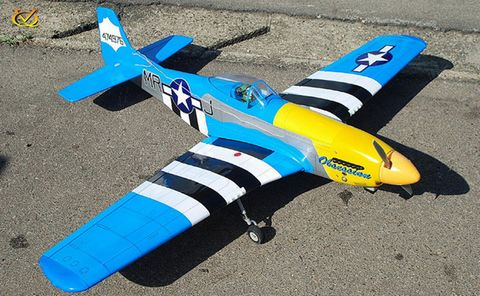 VQ Models P51D Mustang Obsession 46 Size