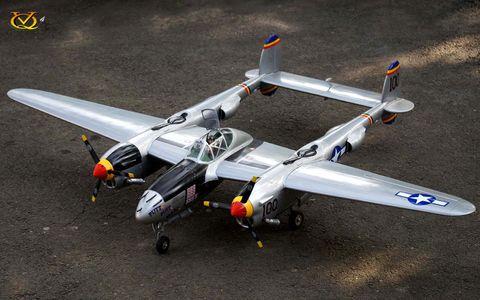 VQ Models P38 Lightning Twin 46 Size E