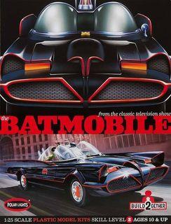 Polar Lights 1:25 Batmobile 2-Pack *