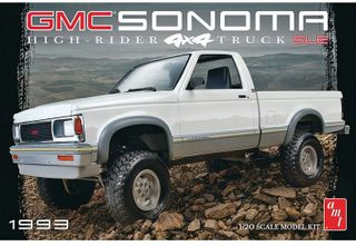 AMT 1:20 1993 Gmc Sonoma 4X4
