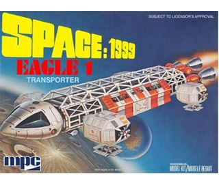 MPC 1:72 Space '99: Eagle-1*D