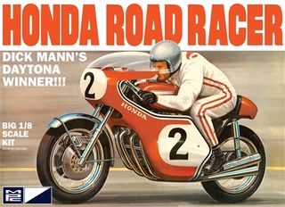 MPC 1:8 Dick Mann Honda 750 Road Rac*March 17